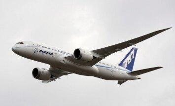 Japānas aviokompānijas aptur 'Boeing 787 Dreamliner' izmantošanu