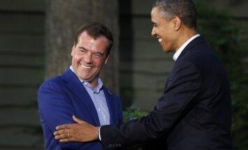 Medvedevs: Obamam ir 'garīga aberācija'