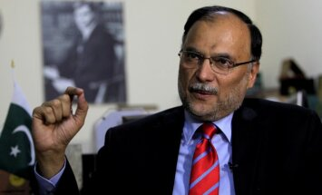 Atentātā ievainots Pakistānas iekšlietu ministrs