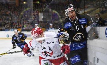 Merzļikins palīdz 'Lugano' ar uzvaru sākt prestižā Špenglera kausa izcīņu