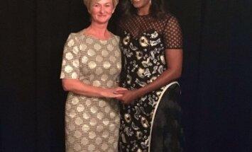 ФОТО: Ивета Вейоне встретилась с Мишель Обамой