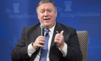 ASV pret Irānu vērsīs 'bezprecedenta finanšu spiedienu', pauž Pompeo