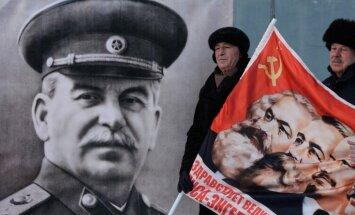 Pleskavas apgabalā uzstādīts Staļina krūšutēls
