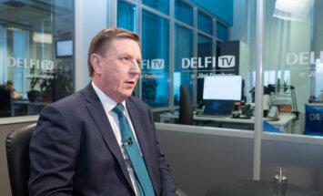 """Премьер-министр Марис Кучинскис на DelfiTV: """"Будет очень, очень тяжело"""""""
