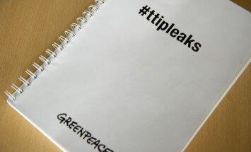 'Greenpeace' nopludinātie brīvās tirdzniecības dokumenti ir maldinoši, paziņo ASV