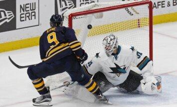 Sabres Evander Kane vs Sharks Martin Jones