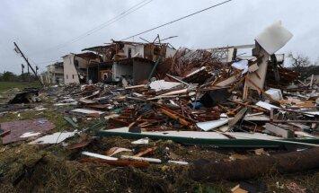 Vētra 'Hārvijs' nodara lielus postījumus Teksasā; divi bojāgājušie