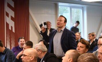 Sorokins LHF kongresa debatēs aizsvilstas par federācijas naudas sadali