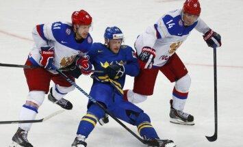 Video: Znaroks un Krievijas hokejisti turpina uzvaras gājienu