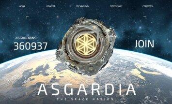 Начался прием в гражданство первого космического государства