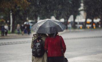 Во вторник в Латвии пройдут кратковременные дожди