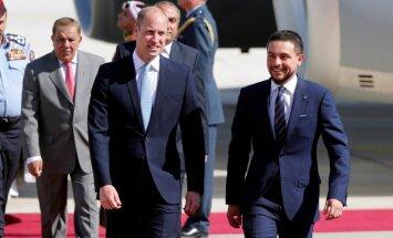 Lielbritānijas princis Viljams sāk vizīti Tuvajos Austrumos