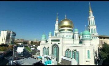 Video: Maskavā atklāta viena no lielākajām Eiropas mošejām