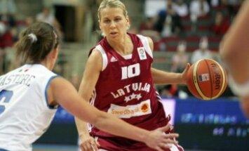 Jēkabsonei-Žogotai 18 punkti Krievijas basketbola čempionāta otrajā ceturtdaļfināla spēlē