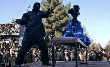 Par ko Irānā soda ar nāvi: 14 bīstamas lietas