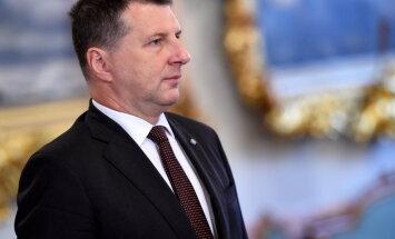 Vējonis ar Saeimā ievēlētajām politiskajām partijām plāno tikties nākamajā ceturtdienā un piektdienā