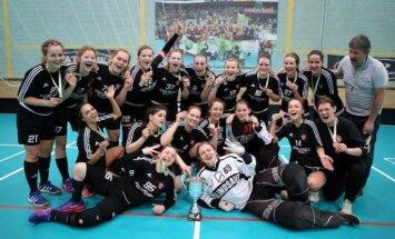 'Ķekavas Bulldogs' florbolistes iegūst Latvijas čempionāta bronzu