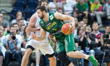 Lietuvas izlasē 'Eurobasket 2015' nespēlēs līderis Kleiza