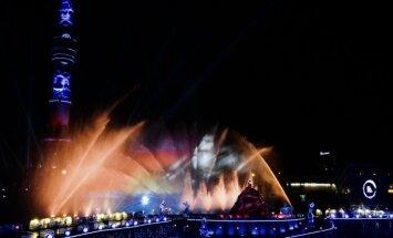 Foto: Maskavu apbur pārsteidzošs gaismas festivāls