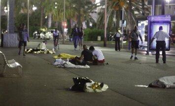 Nicas terorakta bojāgājušo vidū arī ASV, Krievijas, Ukrainas, Armēnijas un citu valstu pilsoņi