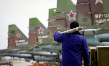 Medijs: Krievijas karavīri uzsākuši karot Sīrijā
