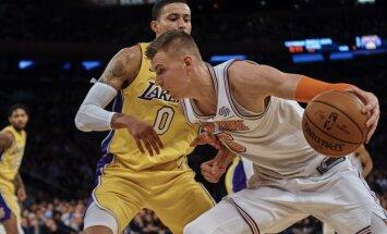"""ВИДЕО: Порзиньгис выдал суперматч против """"Лейкерс"""" и стал рекордсменом НБА"""
