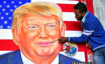 Trampa inaugurācija būs netradicionāla, to pavadīs desmitiem protestu