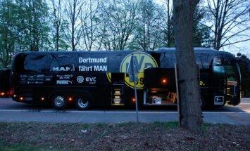 Aizdomās par 'Borussia' autobusa spridzināšanu aizturēts Krievijas pilsonis