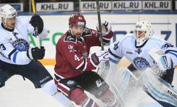 Rīgas 'Dinamo' neizteiksmīgā spēlē pret Minskas 'Dinamo' pagarina zaudējumu sēriju