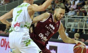 Savainojumu ārstējošais Peiners, kā arī Rozītis un Laksa nepiedalīsies Latvijas basketbola izlases pēdējā pārbaudes spēlē
