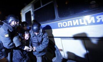 Krievijas protesti: Maskavā simtiem aizturēto, sociālajos tīklos ziņo par sadursmēm ar OMON(plkst 20:17)