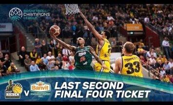 'Banvit' pēdējā sekundē izrauj uzvaru divu spēļu summā un iesoļo FIBA Čempionu līgas pusfinālā
