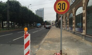 Vasaras murgs Brīvības ielā noslēdzies; ar remontu Lāčplēša ielā jāsamierinās līdz oktobrim