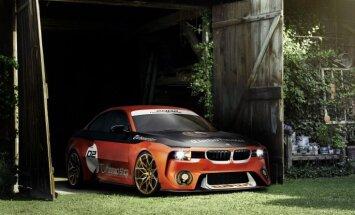 'BMW 2002 Hommage' koncepts jaunā veidolā