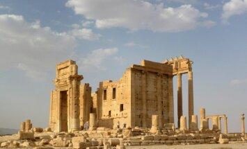 Sīrijas armija ar Krievijas atbalstu atkal ieiet Palmīrā