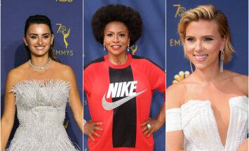 Foto: 'Emmy' ceremonijas stila misēkļi un veiksmes