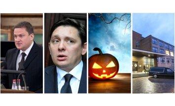 Zaķis 'izsprūk' sveikā, Kaimiņš zākājas, Helovīna vakars un Viljandi šāvēja balsis