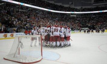 Baltkrievijas hokeja izlasei problēmas ar labāko spēlētāju piesaistīšanu