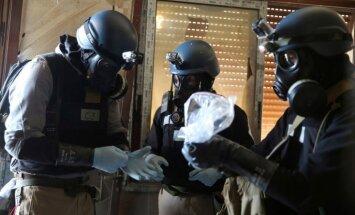 Sīrija par ķīmisko ieroču izmantošanu tur aizdomās Turcijas spēkus