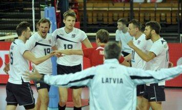 Latvijas vīriešu volejbola izlase uzsāk gatavošanos EČ kvalifikācijas turnīram