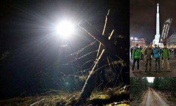 'Delfi' izmēģina: 99 kilometri 18 stundās – skaudrs valsts svētku pārgājiens
