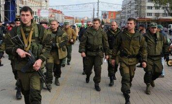 Donbasa separātisti paziņo par uzbrukuma sākumu; plāno atgūt zaudētās pilsētas
