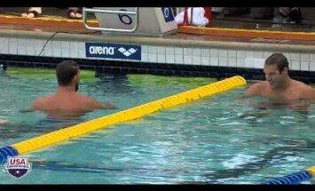Pēc trīs gadu pārtraukuma Felpss atkal uzvar 200 metros tauriņstilā