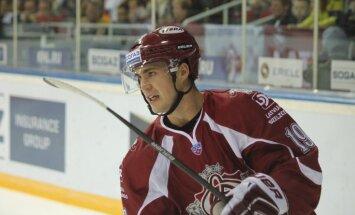 Rīgas 'Dinamo' 28 spēlētāju sastāvā dodas sezonas pirmajā izbraukumā