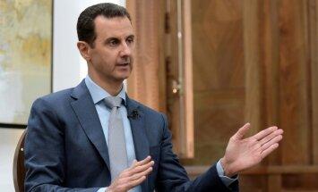 Asadam draud kriminālvajāšana par kara noziegumiem, uzsver Tilersons