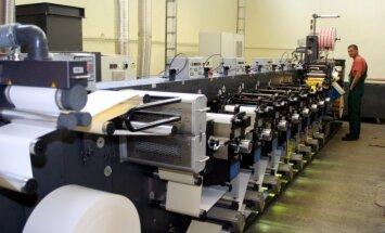 Цены производителей латвийской промпродукции на 2% выше, чем год назад