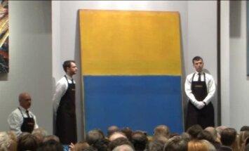 Ņujorkas izsolē par 45,5 miljoniem ASV dolāru pārdota Rotko glezna
