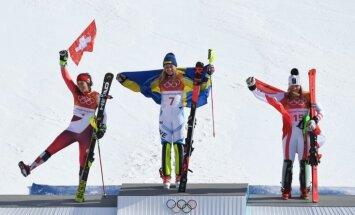XXIII Ziemas olimpisko spēļu rezultāti kalnu slēpošanā sievietēm slaloma disciplīnā (16.02.2018.)