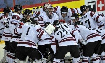 Latvijas izlase mačā pret Somiju cīnīsies par vietu PČ ceturtdaļfinālā