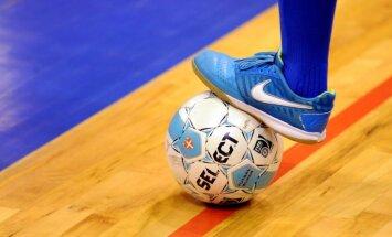 Latvijas telpu futbola izlase pirmo reizi vēsturē piekāpjas Anglijai
